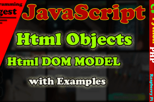 html Objects