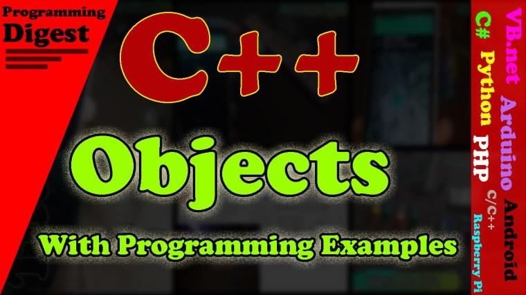 object in c