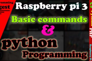 Raspberry Pi first Programming