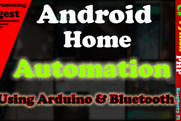 Arduino Bluetooth controlling system for Home Automation using Arduino & Bluetooth