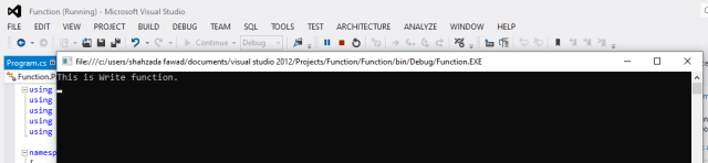 C# Function