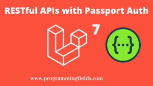 RESTful API with Passport Auth
