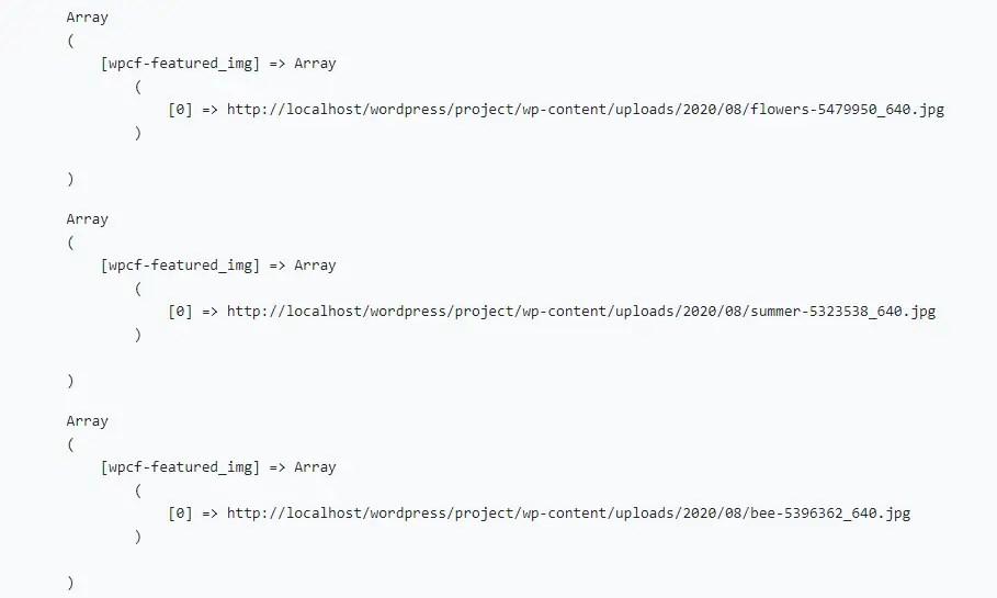 Term Meta Listing