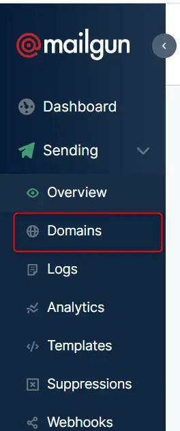 Mailgun Domains