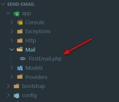 Mail Class Created