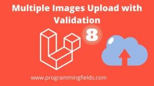 Laravel 8 Multiple Images Upload