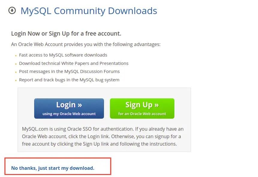 Download MySQL APT Repository
