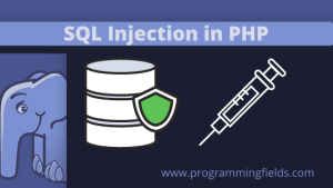 SQL injection in PHP