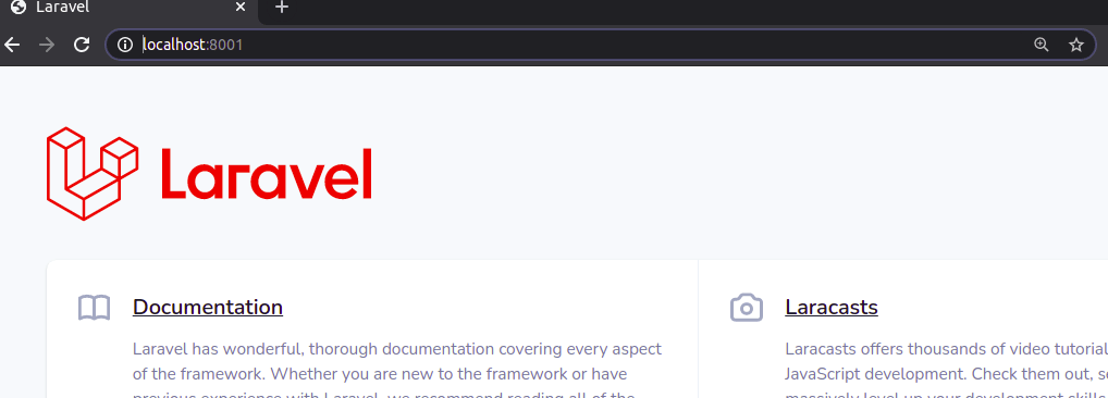 Laravel Homepage without HTTPS