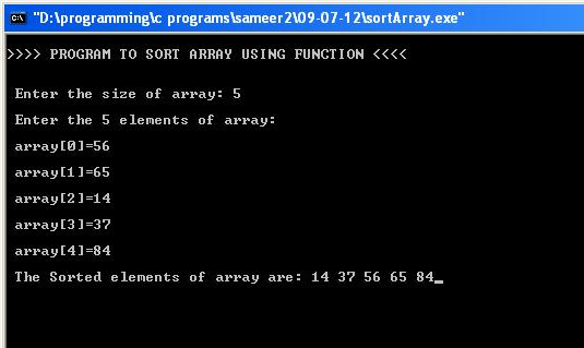 sort-array-using-function