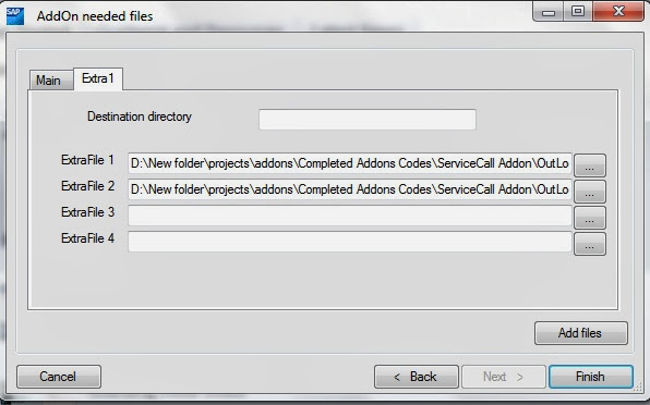 SAP B1 Addon ard create 6