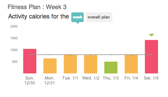 Fitbit trainer weekly