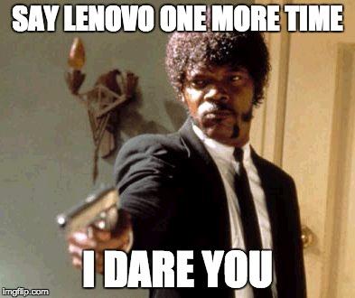 Lenovo meme