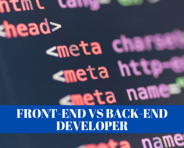 Front-End vs Back-End Developer