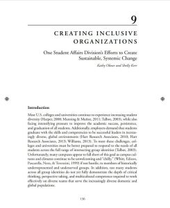 Creating Inclusive Org