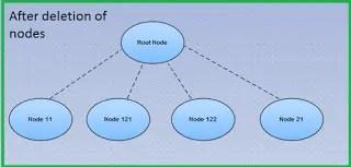 nodes deletd