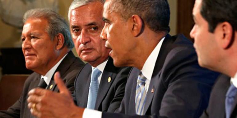 Habrá más deportaciones, dice Obama a presidentes de Centroamérica