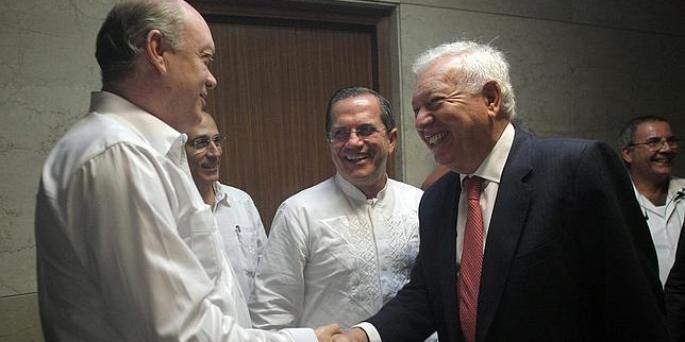 Margallo en La Habana