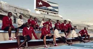 cuban athletes in formal garb