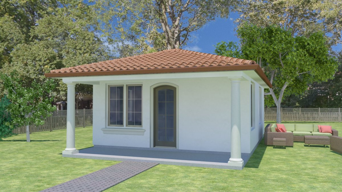 In-Law unit on your backyard for potential income