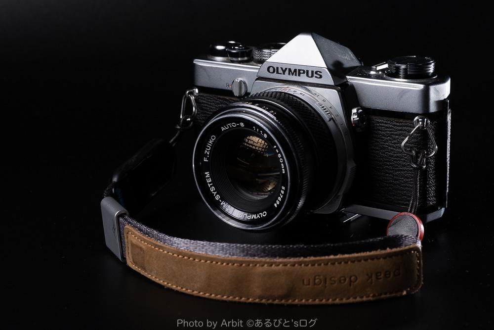 フィルムカメラOM-1の写真
