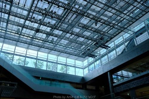 近未来的な天井