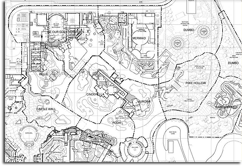 Hmm Leaked Blueprints Show An Expanded Magic Kingdom At Walt Disney World Updated Disney Just Confirmed At D23 Blog Of Much Holding