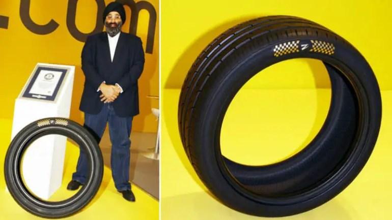 Le pneu le plus cher