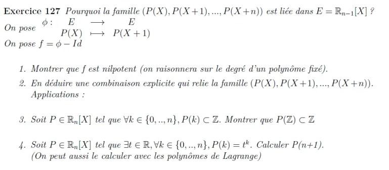 translation de polynômes