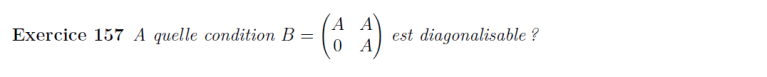 Matrice de matrice