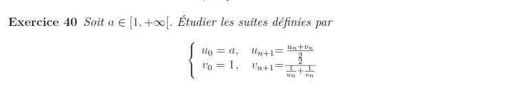 Suite géométrico-harmonique