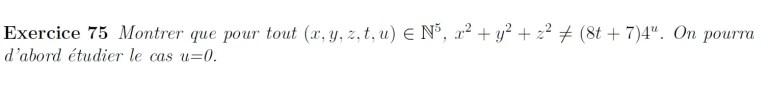 Centrale et arithmétique