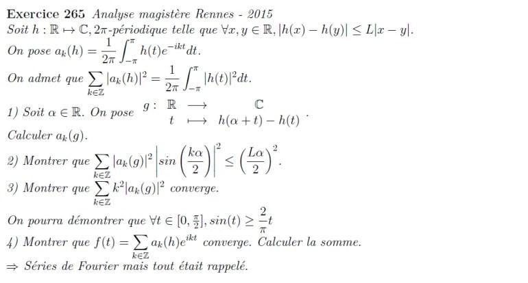 Etude de fonctions périodiques