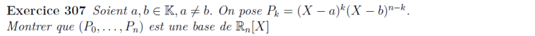 Base des polynômes