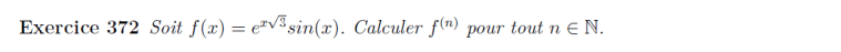 Théorème de Leibniz application