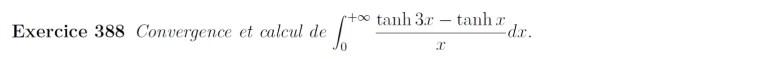 Calcul d'intégrale