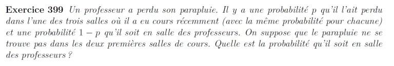 Formule de Bayes