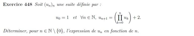 Suite récurrente avec conjecture