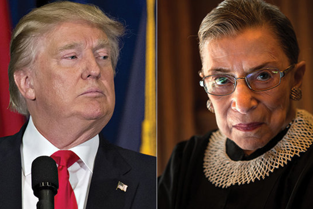 Ginsburg Weighing Decision to Hear Case on Possible Russian Election Hacking