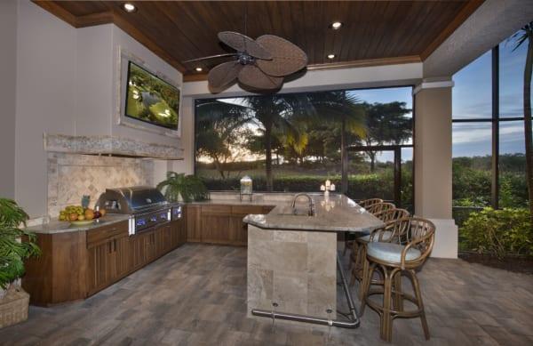 8 Outdoor Kitchen Design Trends For Southwest Florida Home on Yard Kitchen Design id=38298