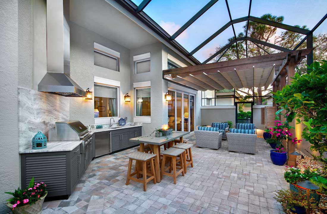 8 Outdoor Kitchen Design Trends For Southwest Florida Home on Patio Kitchen  id=93525
