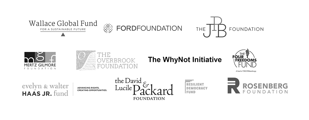 , Funders & Donors