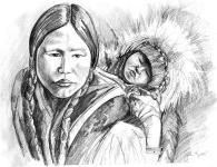 eskimo-mother-and-child-john-keaton