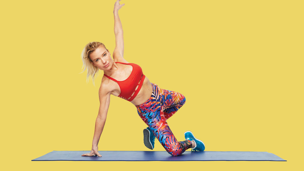 5 Belly-Blasting Tracy Anderson Moves to Start the New Year