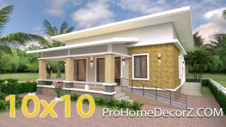 Home Design Plans 10x10 Meter 33x33 Feet