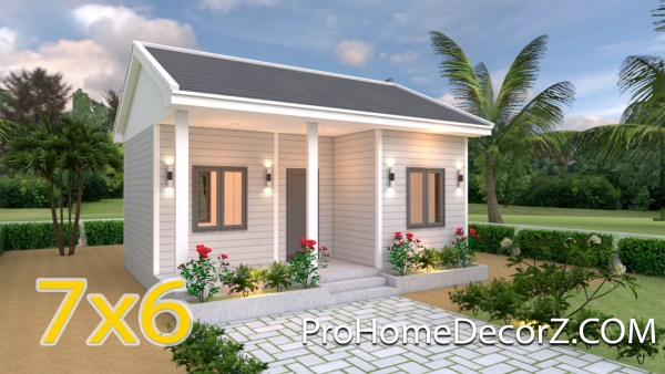 Small Home Designs 7x6 Gable Roof