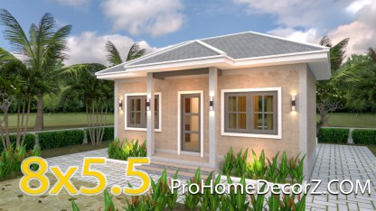 Tiny House Designs 8x5.5 Hipped roof