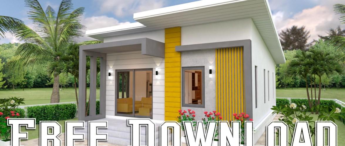 House Plans 7x12M 23x39F