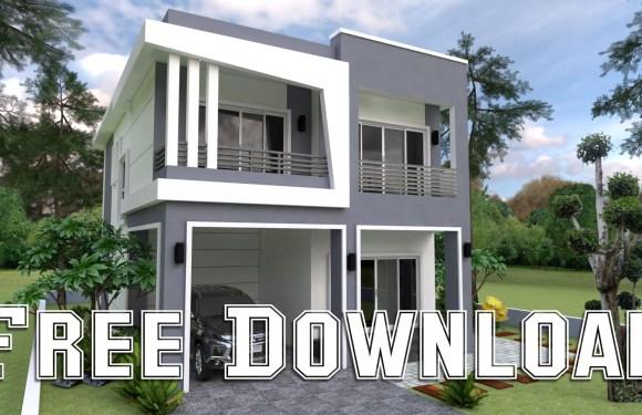 House Plans 8x13M 26x43F