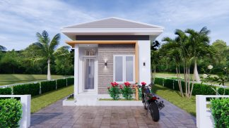 New Home Plans 4x9 Meter 13x30 Feet 1